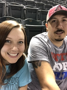 Amy attended Arizona Diamondbacks vs. San Francisco Giants on Apr 18th 2018 via VetTix