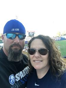 Jason attended Las Vegas 51s vs. El Paso Chihuahuas - MiLB on Apr 23rd 2018 via VetTix