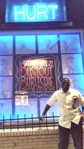 Del attended Bustout Burlesque - Late Show on Apr 21st 2018 via VetTix