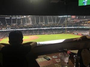 Christian attended Arizona Diamondbacks vs. San Francisco Giants on Apr 19th 2018 via VetTix