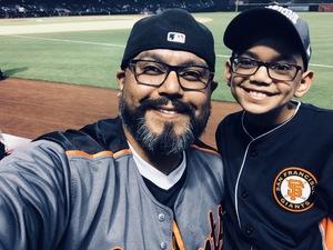 Pedro attended Arizona Diamondbacks vs. San Francisco Giants on Apr 19th 2018 via VetTix