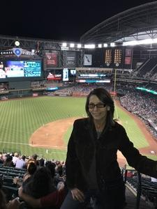 Tamra attended Arizona Diamondbacks vs. San Diego Padres - MLB on Apr 20th 2018 via VetTix