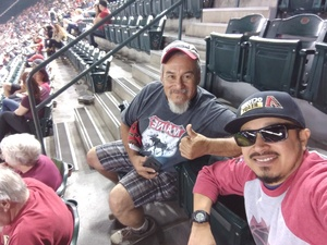 Anthony attended Arizona Diamondbacks vs. San Diego Padres - MLB on Apr 20th 2018 via VetTix