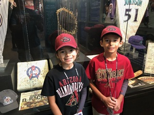 Alex attended Arizona Diamondbacks vs. San Diego Padres - MLB on Apr 20th 2018 via VetTix