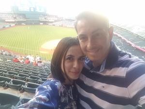 Chief attended Arizona Diamondbacks vs. San Diego Padres - MLB on Apr 20th 2018 via VetTix
