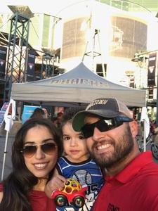Beto attended Arizona Diamondbacks vs. San Diego Padres - MLB on Apr 20th 2018 via VetTix