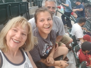 Jamie attended Arizona Diamondbacks vs. San Diego Padres - MLB on Apr 21st 2018 via VetTix