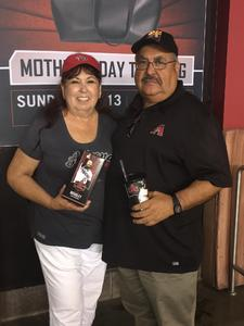 Gonzalo attended Arizona Diamondbacks vs. San Diego Padres - MLB on Apr 21st 2018 via VetTix