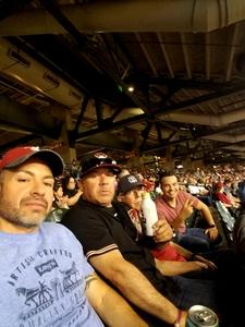 Edgar attended Arizona Diamondbacks vs. San Diego Padres - MLB on Apr 21st 2018 via VetTix