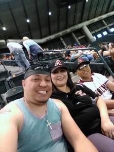 Edward attended Arizona Diamondbacks vs. San Diego Padres - MLB on Apr 22nd 2018 via VetTix