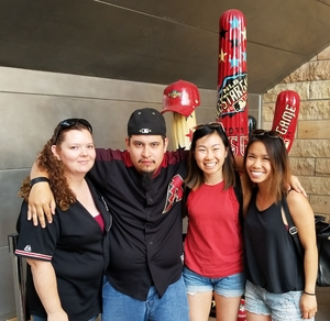 Justin attended Arizona Diamondbacks vs. San Diego Padres - MLB on Apr 22nd 2018 via VetTix