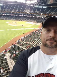 Douglas attended Arizona Diamondbacks vs. San Diego Padres - MLB on Apr 22nd 2018 via VetTix
