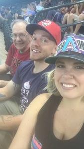 Heather attended Arizona Diamondbacks vs. San Diego Padres - MLB on Apr 22nd 2018 via VetTix