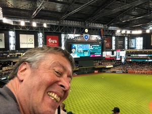 Patrick attended Arizona Diamondbacks vs. San Diego Padres - MLB on Apr 22nd 2018 via VetTix