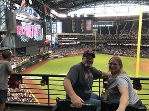 Mike attended Arizona Diamondbacks vs. San Diego Padres - MLB on Apr 22nd 2018 via VetTix
