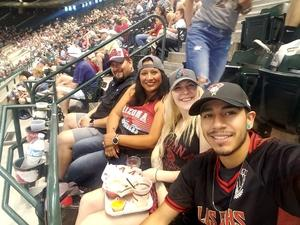 Ricky attended Arizona Diamondbacks vs. San Diego Padres - MLB on Apr 22nd 2018 via VetTix