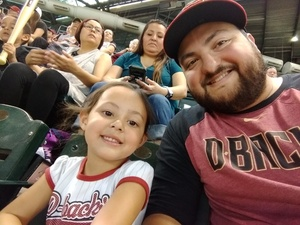 Sean attended Arizona Diamondbacks vs. San Diego Padres - MLB on Apr 22nd 2018 via VetTix