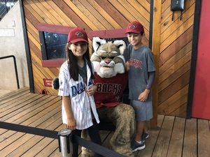 Alex attended Arizona Diamondbacks vs. San Diego Padres - MLB on Apr 22nd 2018 via VetTix