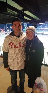Eric attended Philadelphia Phillies vs. Pittsburgh Pirates - MLB on Apr 20th 2018 via VetTix