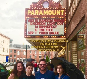 Thomas attended Gordon Lightfoot on Aug 12th 2018 via VetTix