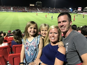 JARRED attended Phoenix Rising FC vs. Swope Park Rangers - USL on Apr 21st 2018 via VetTix
