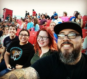 Julian attended Phoenix Rising FC vs. Swope Park Rangers - USL on Apr 21st 2018 via VetTix
