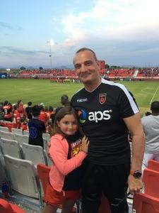 Gennaro attended Phoenix Rising FC vs. Swope Park Rangers - USL on Apr 21st 2018 via VetTix