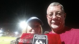 Ronald attended Phoenix Rising FC vs. Swope Park Rangers - USL on Apr 21st 2018 via VetTix