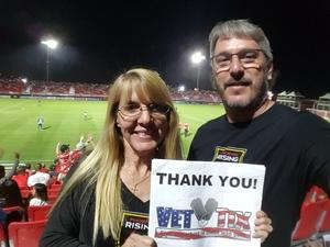 Michael attended Phoenix Rising FC vs. Swope Park Rangers - USL on Apr 21st 2018 via VetTix
