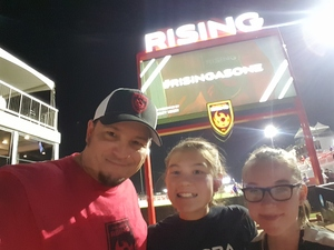 Jason attended Phoenix Rising FC vs. Swope Park Rangers - USL on Apr 21st 2018 via VetTix