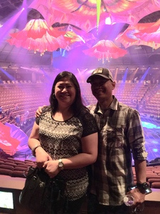 Stephen attended Le Reve the Dream at the Wynn Theatre on Apr 15th 2018 via VetTix