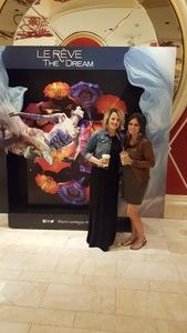 Amy attended Le Reve the Dream at the Wynn Theatre on Apr 15th 2018 via VetTix