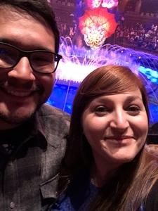 Isman attended Le Reve the Dream at the Wynn Theatre on Apr 15th 2018 via VetTix