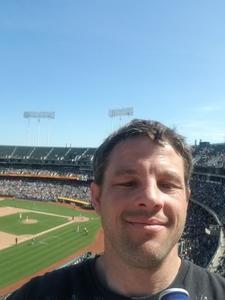 Jeremey attended Oakland Athletics vs. Boston Red Sox - MLB on Apr 22nd 2018 via VetTix