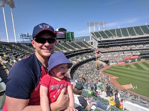 William attended Oakland Athletics vs. Boston Red Sox - MLB on Apr 22nd 2018 via VetTix