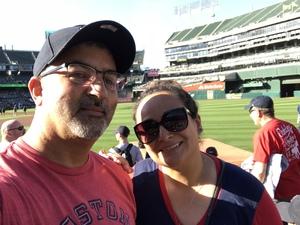 George attended Oakland Athletics vs. Boston Red Sox - MLB on Apr 22nd 2018 via VetTix