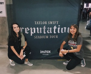 Leigh attended Taylor Swift Reputation Stadium Tour on May 8th 2018 via VetTix
