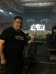 Pedro attended Taylor Swift Reputation Stadium Tour on May 8th 2018 via VetTix