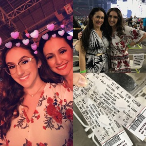 Liz attended Taylor Swift Reputation Stadium Tour on May 8th 2018 via VetTix