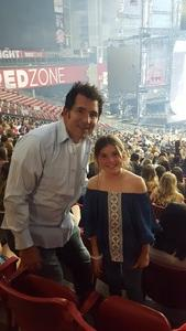 Javier attended Taylor Swift Reputation Stadium Tour on May 8th 2018 via VetTix