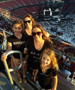 Ashley attended Taylor Swift Reputation Stadium Tour on May 11th 2018 via VetTix
