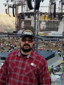 Robert Sarge Perez attended Taylor Swift Reputation Stadium Tour on May 18th 2018 via VetTix
