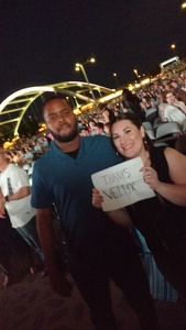 john attended Vance Joy on Tour - Lawn Seating on May 10th 2018 via VetTix