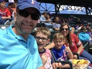 Brandon attended Texas Rangers vs. Seattle Mariners - MLB on Apr 22nd 2018 via VetTix