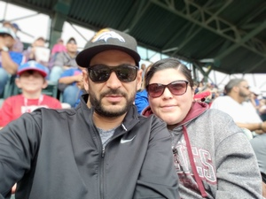 adrian attended Texas Rangers vs. Seattle Mariners - MLB on Apr 22nd 2018 via VetTix
