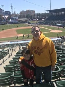 Andrew attended Rochester Red Wings vs. Columbus Clippers - MiLB on Apr 22nd 2018 via VetTix