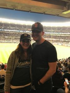 Christopher attended New York Yankees vs. Boston Red Sox - MLB on May 9th 2018 via VetTix