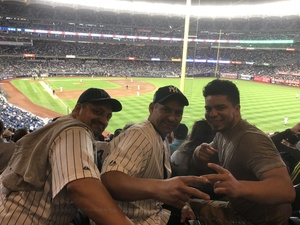Paola attended New York Yankees vs. Boston Red Sox - MLB on May 9th 2018 via VetTix