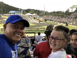 Rocky attended Nitro Circus - Next Level Tour on Jun 19th 2018 via VetTix