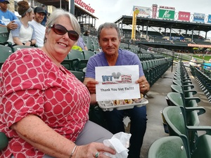 Jim Sepulveda attended Round Rock Express vs. Iowa Cubs - MiLB on May 21st 2018 via VetTix